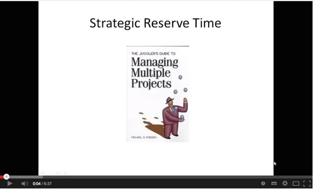 Strategic Reserve Time