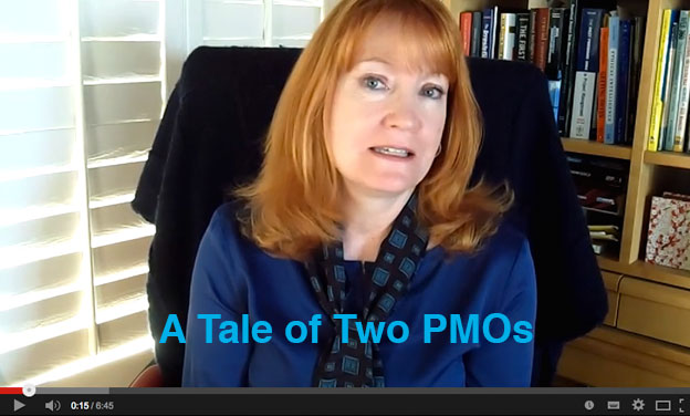 A tale of two PMOs