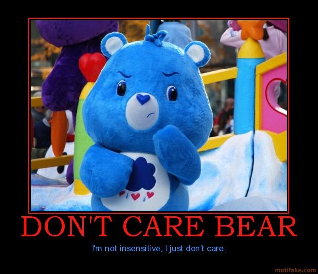 care bears Demotivational