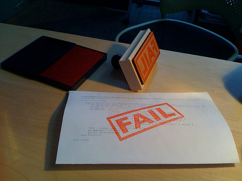 new project manager fail