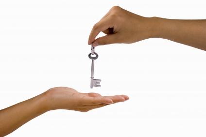 hand over keys