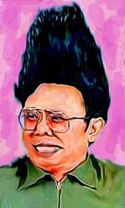 Kim Jong-Il by BMigulski via Flickr