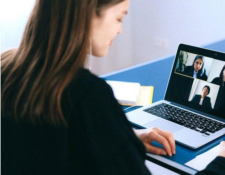 pandemic leadership management video call